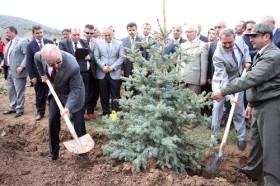 Ergan Dağı'nda ağaçlandırma çalışmaları başladı