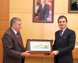 Bakan Çelik, Sakarya Büyükşehir Belediyesi'ni ziyaret etti