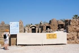 Side'de tapınaklar bölgesinde restorasyon çalışması başladı