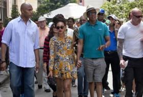 Ünlü çift Küba'da