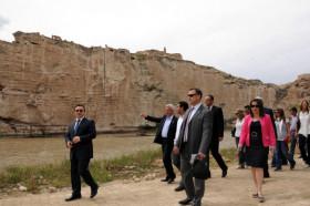 Hasankeyf'te yeni gezi güzergahı açıldı