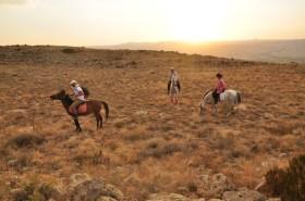 Kapadokya'da atlı turlara büyük ilgi