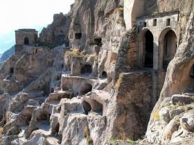 Kapadokya'da kaya oyma Hint sofrası