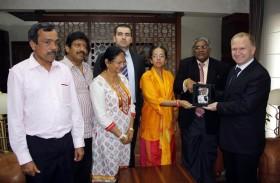 Sri Lanka'nın Sabaragamuwa Eyaleti Başbakanı Herath Nevşehir'de