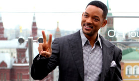 Will Smith yeni filmi için Rusya Moskova'da