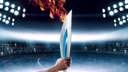 Soci 2014 Kış Olimpiyatları Oyunları Meşalesi
