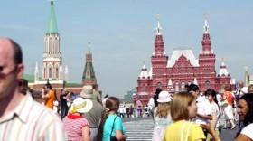 Moskova'da turist sayısında artış