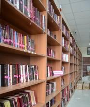 Nadir Nadi Kütüphanesi yeni yerinde