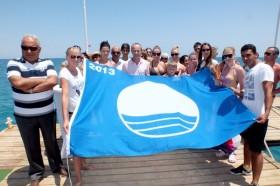 PGS Hotels Rose Residence Beach Otel'de Mavi Bayrak töreni