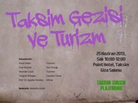 Gezi Parkı olayları tartışıldı