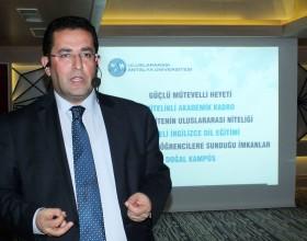 Uluslararası Antalya Üniversitesi Rektörü YÖRSİAD'ın konuğu oldu