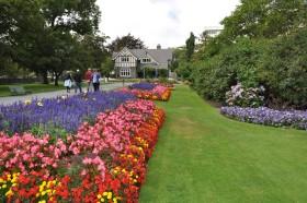 Christchurch Botanik Parkı Yeni Zelanda