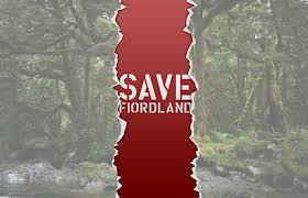 Yeni Zelanda Fiorland Tunel Protestosu