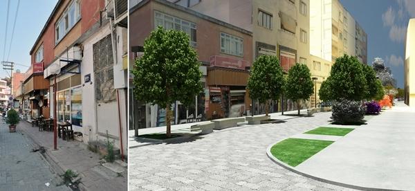 Aliağa Belediyesi Projesi-Eski hali,Yeni hali