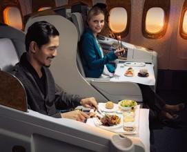 """Emirates'e """"En İyi Yemek ve Şarap"""" ödülü"""