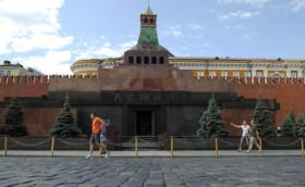 Lenin Mozolesi bugün kapalı