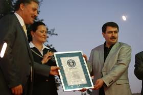 Malatya'da Kayısı tatlısı Guinness Rekorlar Kitabı'nda