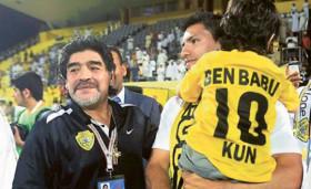 Maradona'nın torununa vize çıkmadı