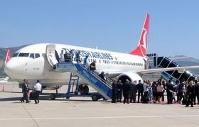 Türk Hava Yolları'nın yolcu sayısı arttı