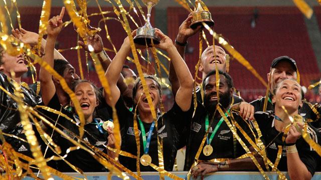 Yeni Zelanda Rugby Takımı Moskova' da Şampiyon