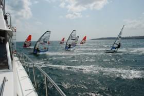 Pegasus Windsurf Ligi'nin 4. ayak yarışları gerçekleşti