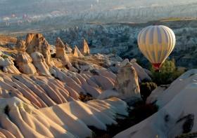 Kapadokya'ya gelen turist sayısı artıyor