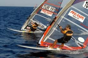 Pegasus Windsurf Ligi'nde 3. ayak yarışları sona erdi