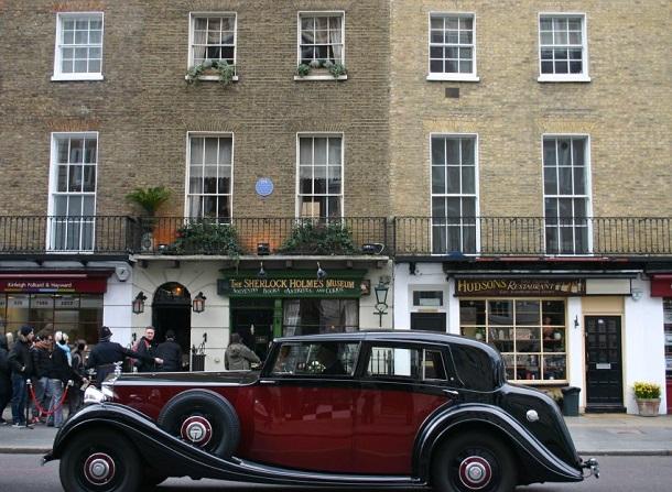 Londra'da Sherlock Holmes Müzesi