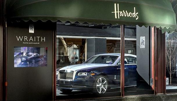 Harrods-Mağazası-Londra-Bentley-Dükkanı