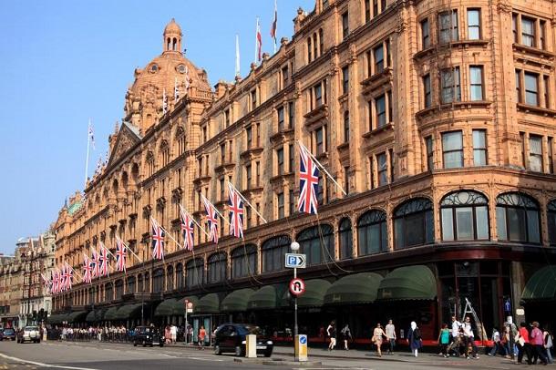 Londra-Harrods-Mağazası