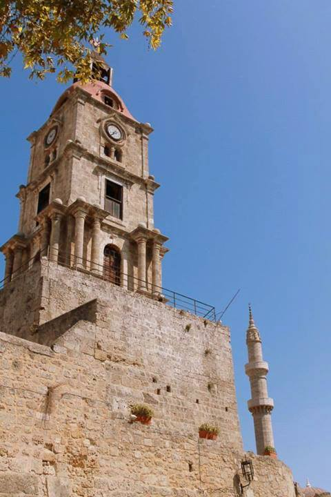 Rodos Tarihi Saat Kulesi