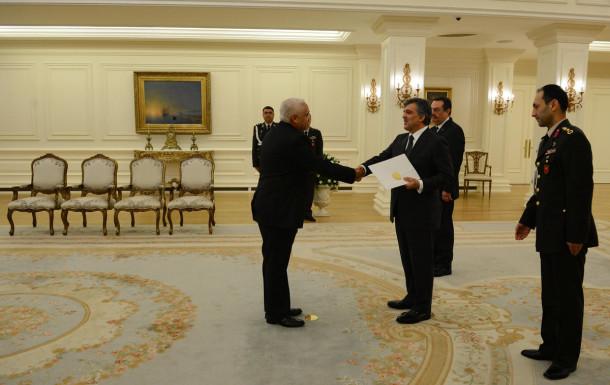 Abdullah Gül Küba büyükelçisi