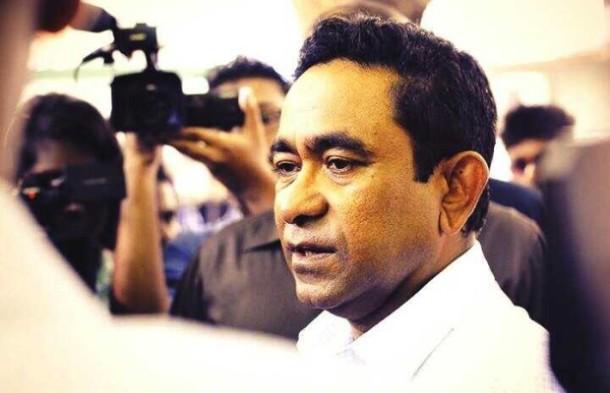 Maldivler Abdullah Yameen