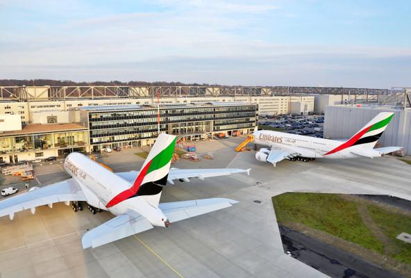 Emirates'in filosuna iki yeni A380