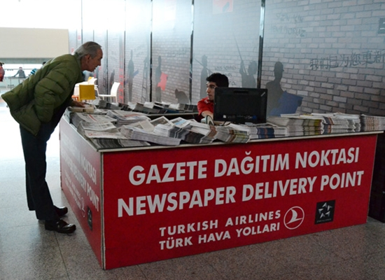 THY Zaman Gazetesi Ambargosu