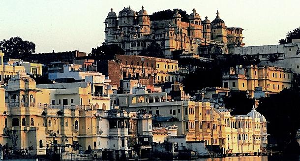 Saraylar şehri Udaipur