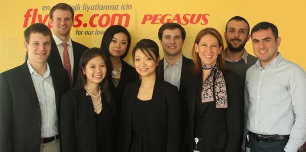 Pegasus Hava Yolları, Harvard Business School'un  küresel saha iş ortağı oldu