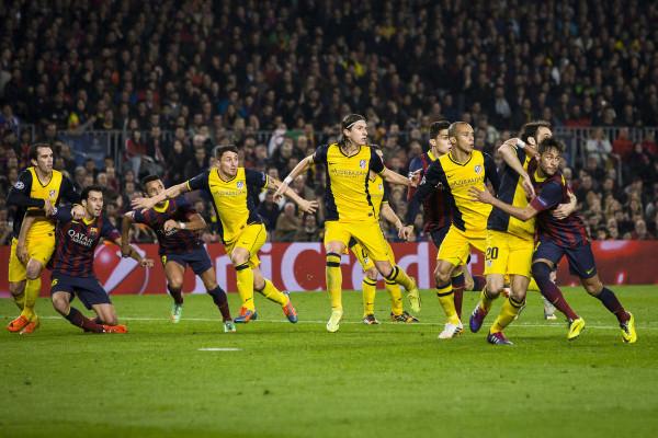 Atletico madrid barcelona