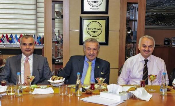 Başaran Ulusoy, Temel Kotil ile görüştü