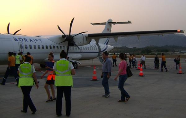 Gazipaşa Havalimanı, Adana ve Beyrut'a bağlandı