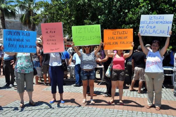 Dalyan halkı: İztuzu plajı halkındır, halkın kalacak