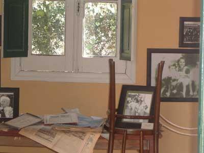che-guevara-müzesi-cordoba-arjantin-La-casa-museo-del-Che-Guevara-en-Alta-Gracia-Che'nin babası Ernesto Guevara Lynch Mr. ofisi
