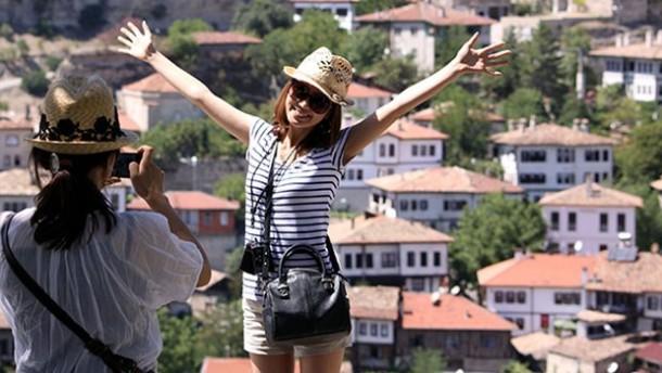 Safranbolu'ya turist akını