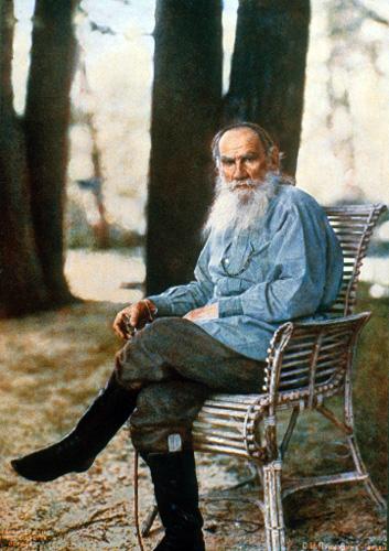Google Rus Yazar Tolstoy' un doğum günü için Doodle hazırladı