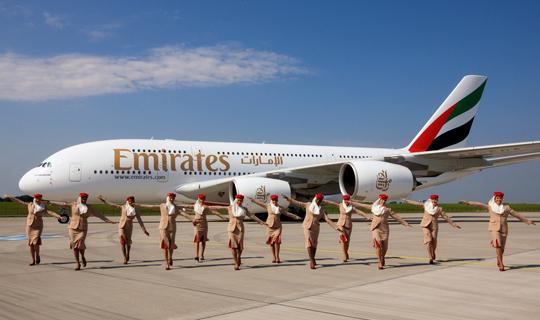 Emirates Mauritius A380 Seferi