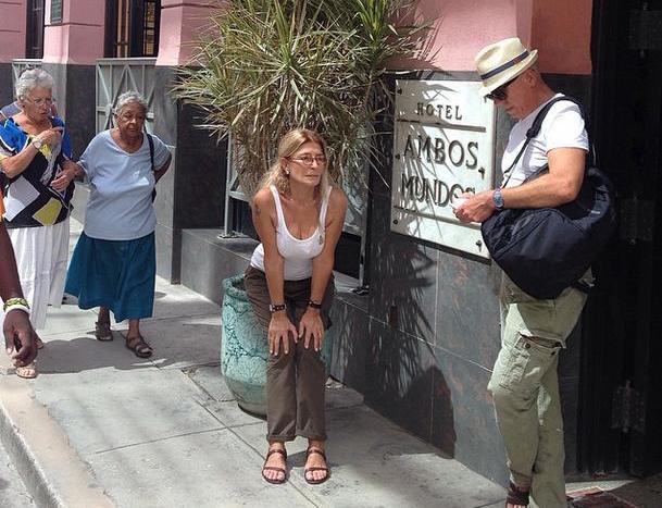 Ertuğrul Özkök Havana Küba Ambos Mundos Oteli