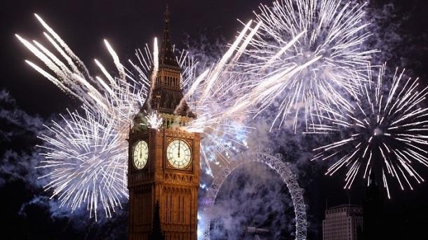 London News-Year-eve