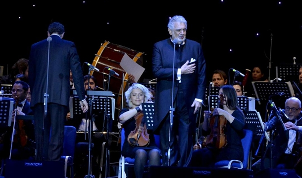 ispanyol tenor Placido Domingo