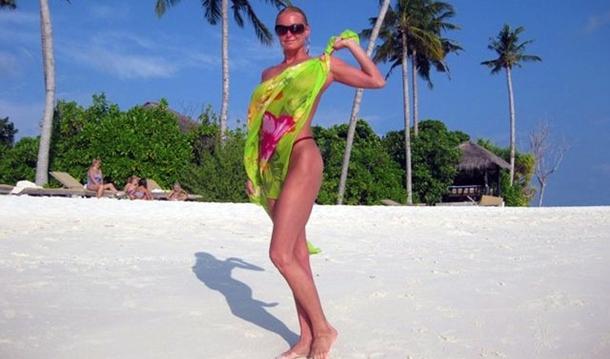 Anastasia Volochkova maldivler