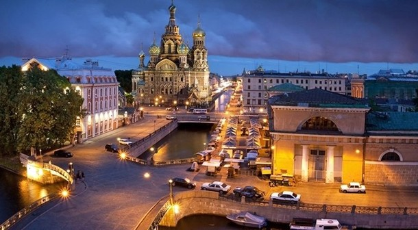 Rusya  St. Petersburg Beyaz Geceler